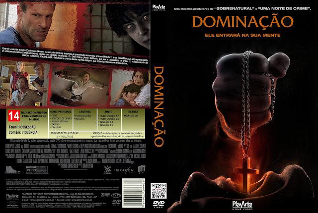 Capa DVD Dominação [Exclusiva]