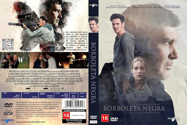 Capa DVD Borboleta Negra [Exclusiva]