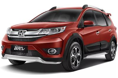 Harga dan Spesifikasi mobil Honda BRV lengkap Warna Pilihan