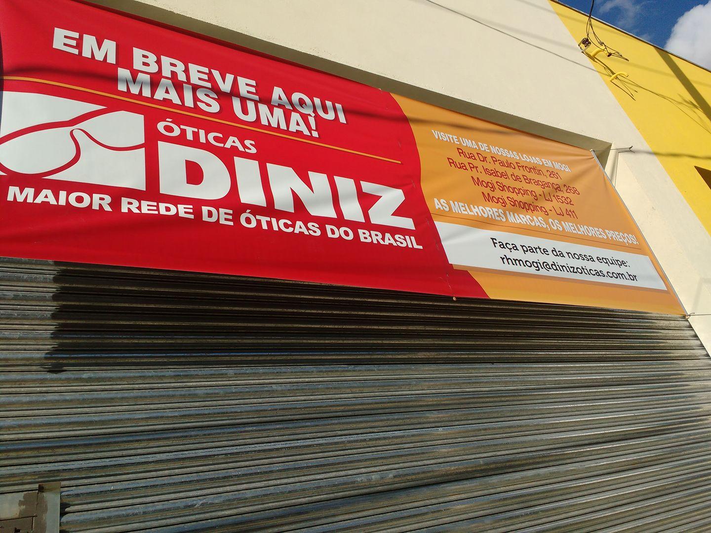 Mogi das Cruzes vai receber uma nova loja das Óticas Diniz. A inauguração  será muito em breve e a loja já está recebendo currículos. 4b3560b6c9