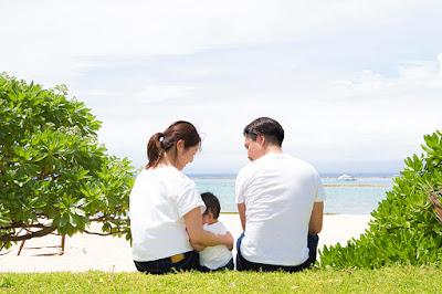 沖縄ハーフバースデーフォト出張撮影