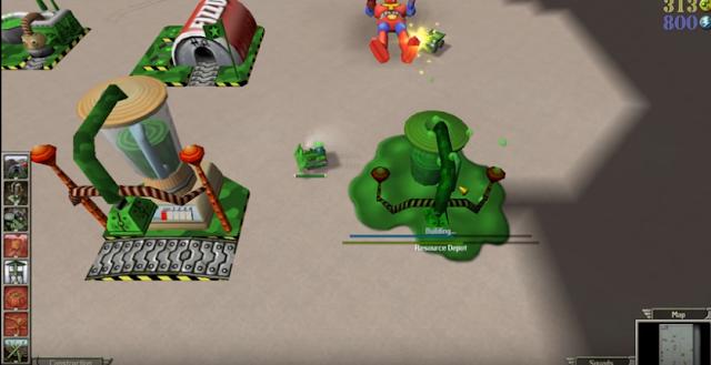 تحميل لعبة الجيش الاخضر Army Men RTS للكمبيوتر مضغوطة من ميديا فاير