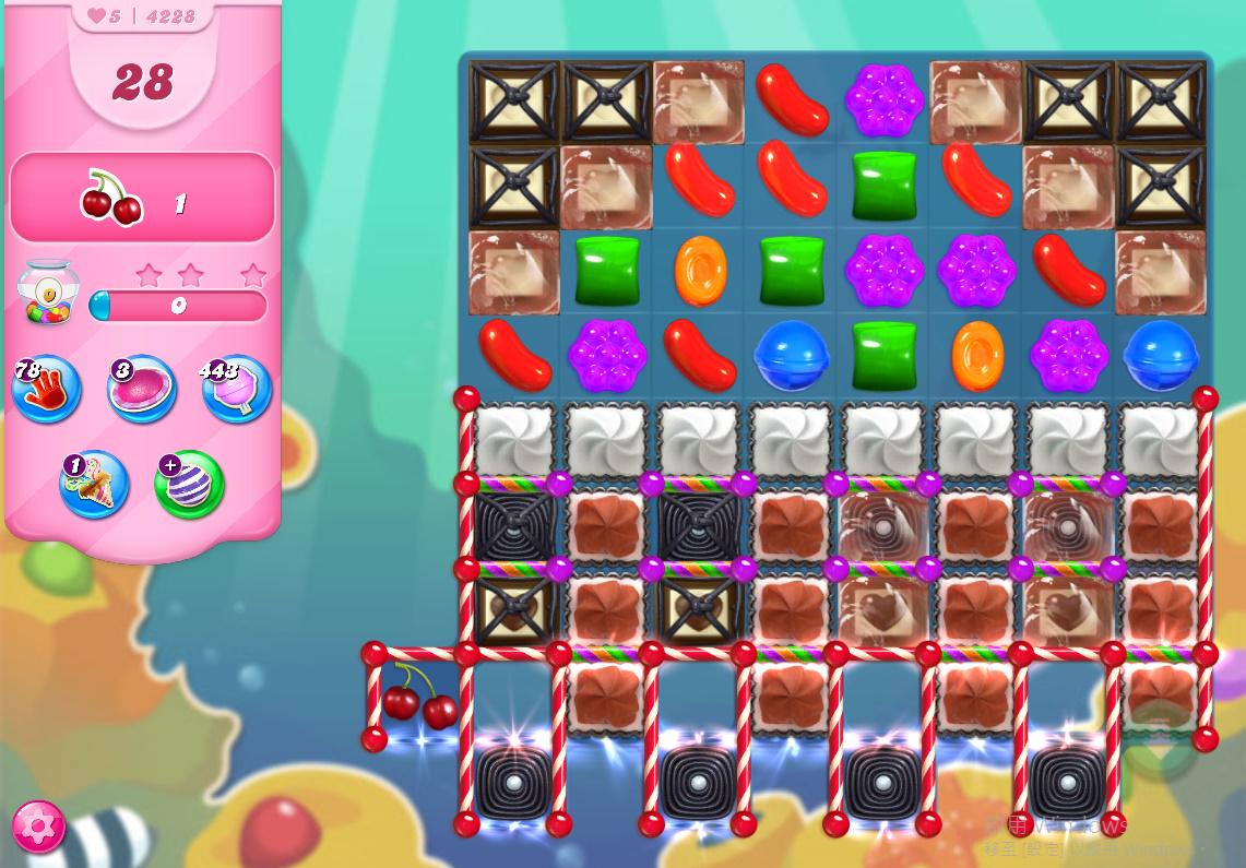 Candy Crush Saga level 4228