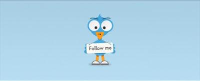 psd beni takip et kuş vektörü