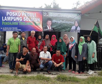 Peduli Korban Tsunami Lamsel, KAHMI dan Forhati Lampung Salurkan Bantuan Sosial dari Alumni HMI