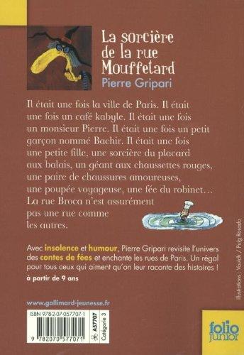 Livres cie la sorciere de la rue mouffetard et autres - Conte de la rue broca la fee du robinet ...