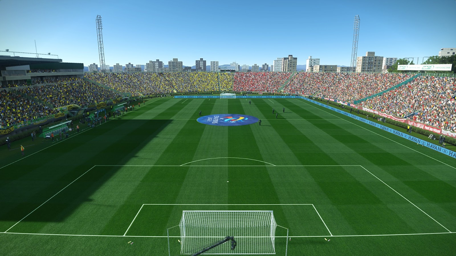 PES 2019 Enhanced turf pack v3.2 with HDR Reshade by Endo