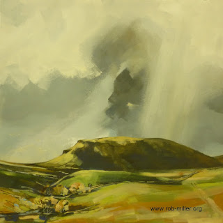 Painting of Penyghent