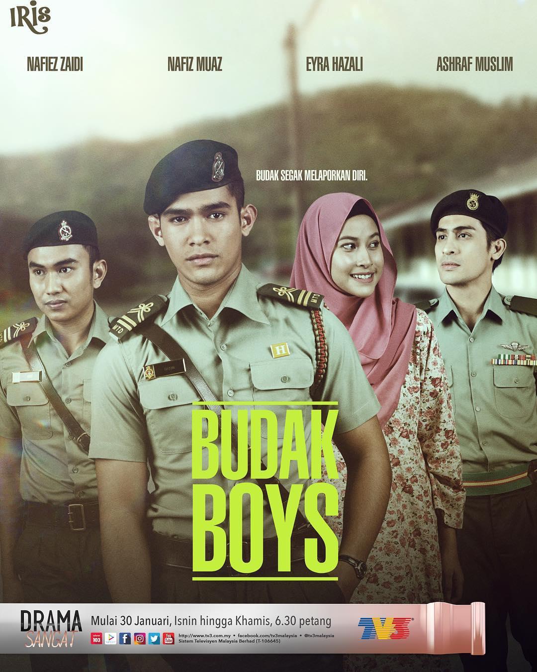 Sinopsis Drama Budak Boys