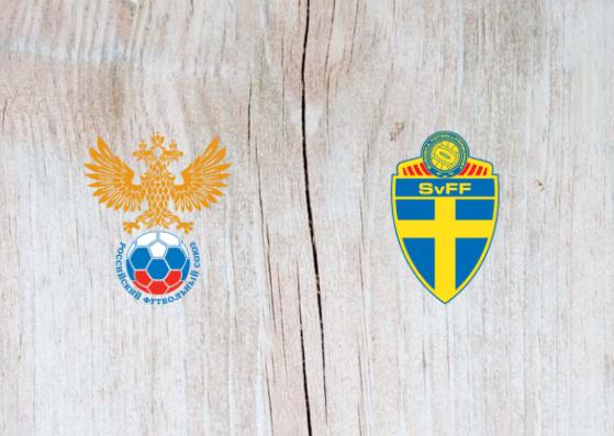 Russia vs Sweden - Highlights 11 October 2018
