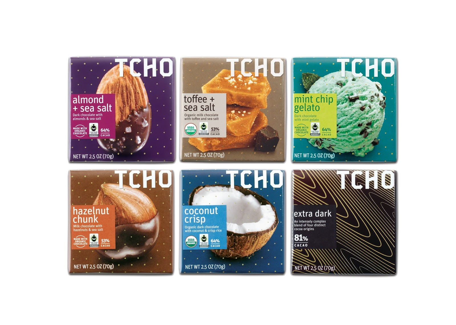 TCHO Chocolate on Packaging of the World - Creative Package Design ...