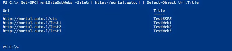 SharePoint Trenches: Display CSOM objects in PowerShell