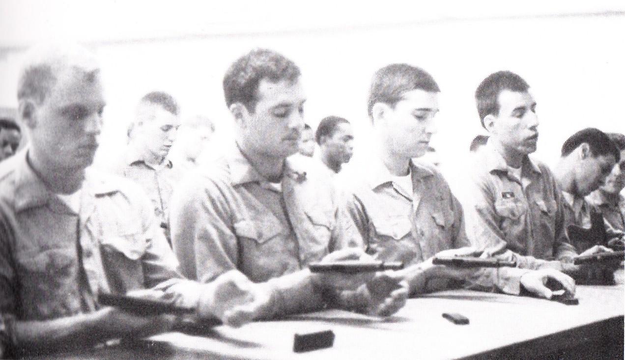 Tommy Mondello sleeping through gun safety course 1981 boot camp