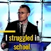 I struggled in school! Jonathan Mooney And Dyslexia.