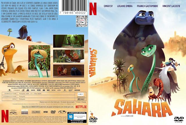 Capa DVD Sahara [Exclusiva]