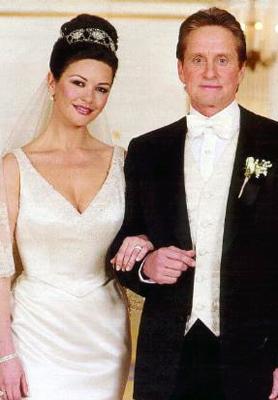 Catherine Zeta Jones Married Michael Douglas In 2000 Photo Celebritybrideguide