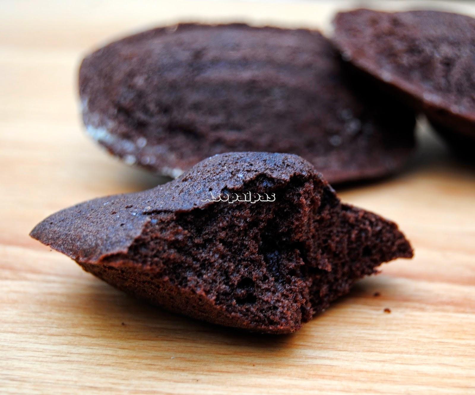 Madeleines de Chocolate