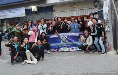 Bakti Sosial Ala Mahasiswa Pecinta Alam (Mapala) Lampung