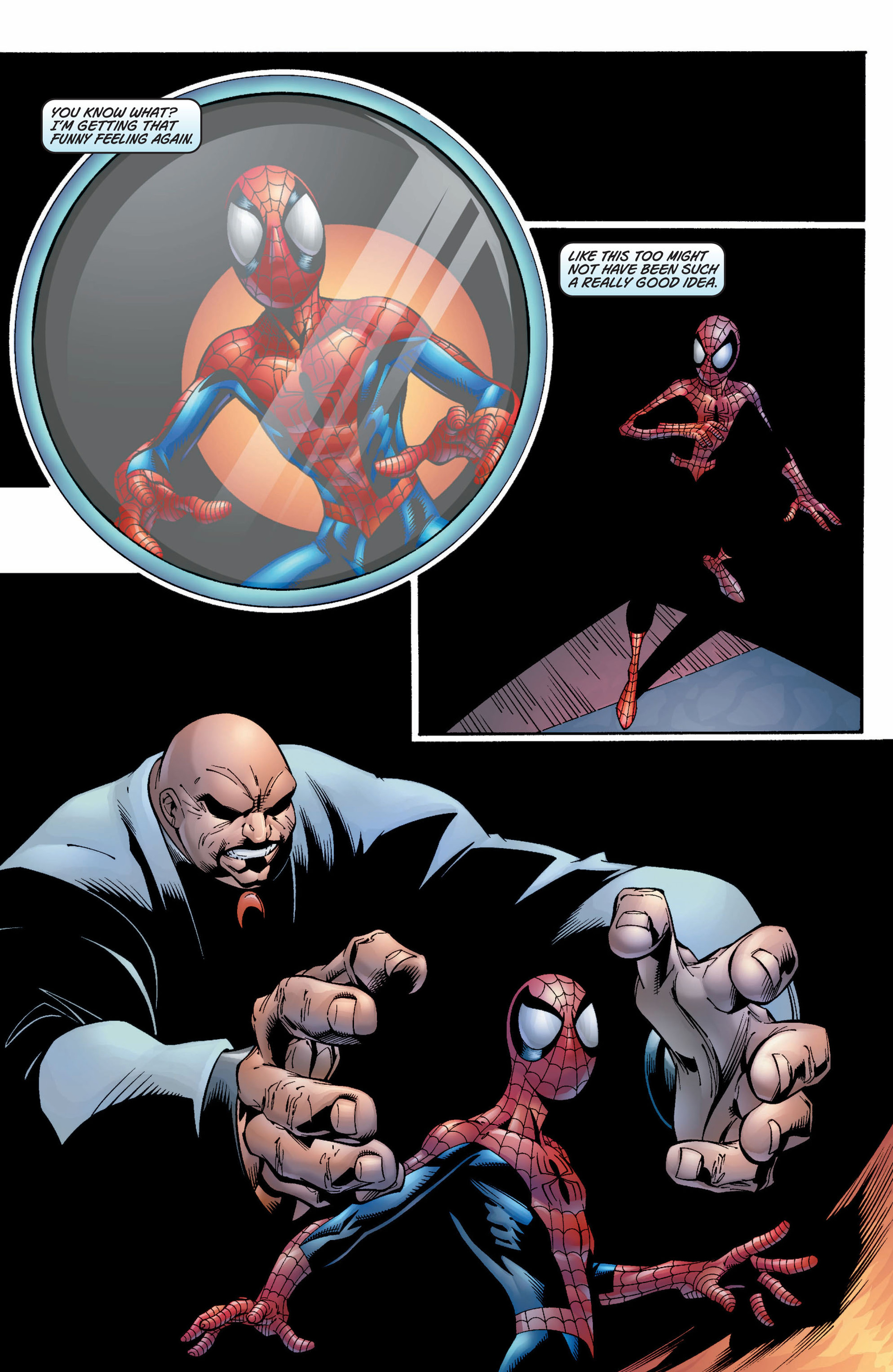 Read online Ultimate Spider-Man (2000) comic -  Issue #9 - 22