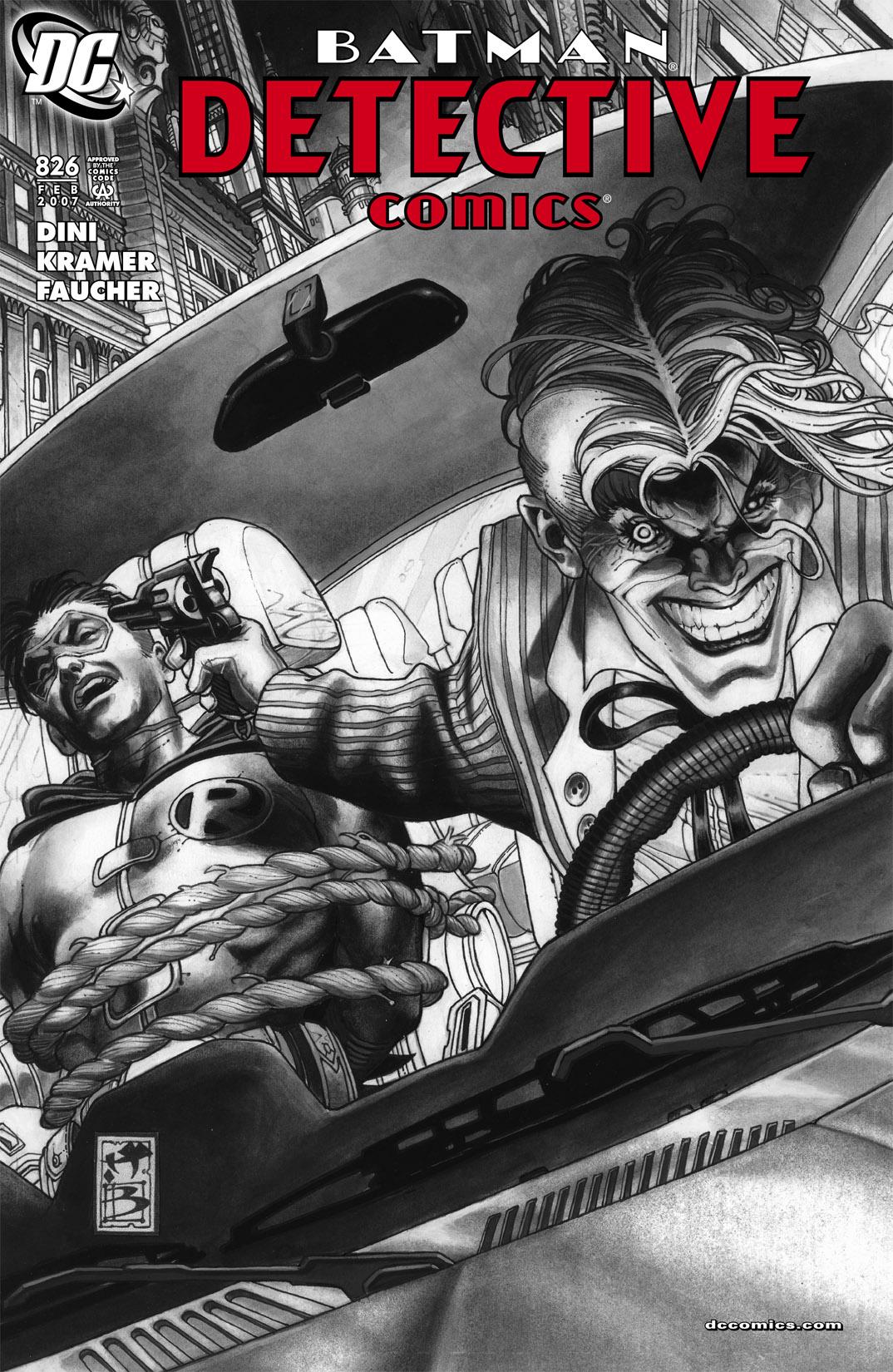 Detective Comics (1937) 826 Page 1