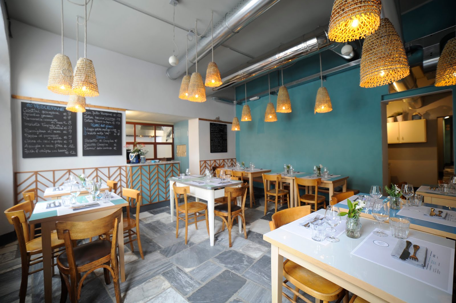 Corriere del web a firenze apre la cucina di pescepane for Cucina casa mare