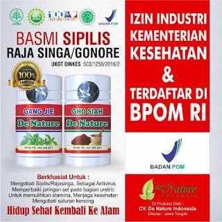 Jual Obat Sipilis di Banda Aceh 100% Herbal Asli De Nature