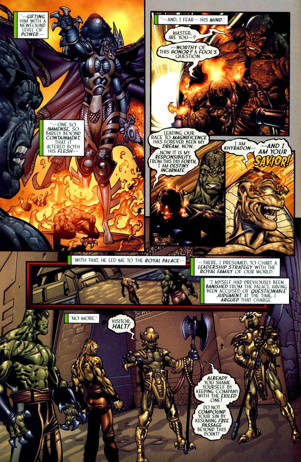 Read online Sigil (2000) comic -  Issue #13 - 8