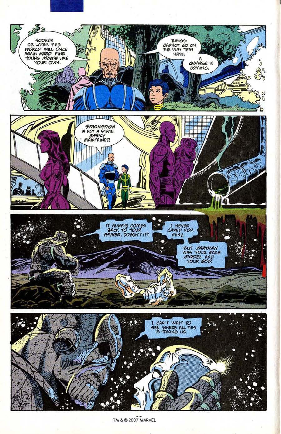 Read online Silver Surfer (1987) comic -  Issue #50 - 22