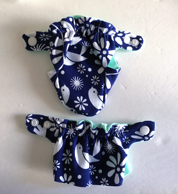 How to sew baby booties