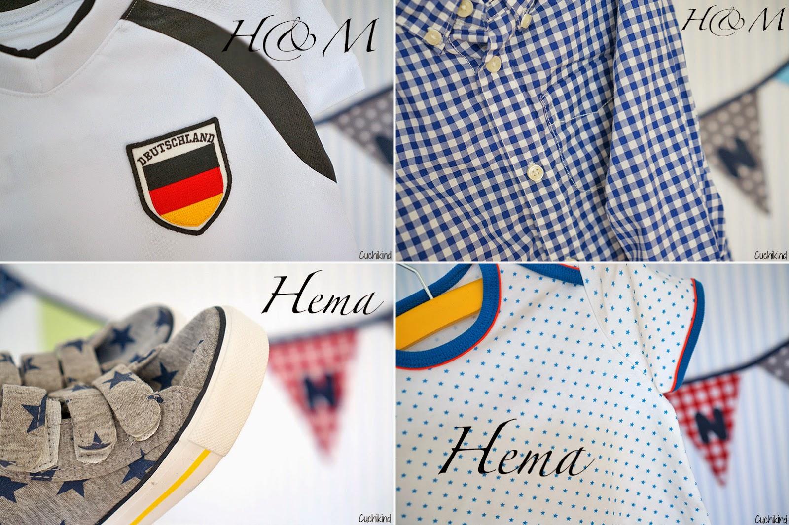 Kinderkleidung Hema und H&M