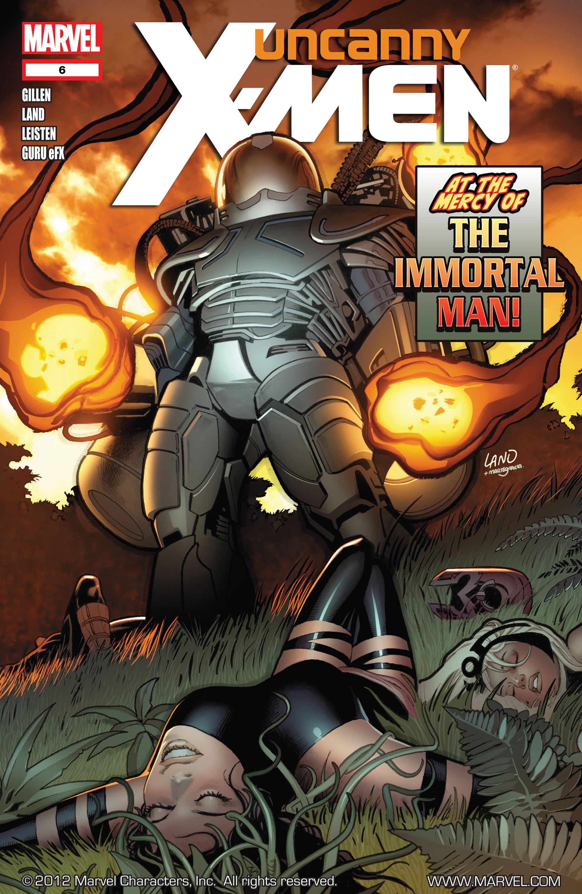 Uncanny X-Men (2012) 6 Page 1