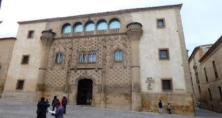 Baeza, Palacio de los Marqueses de Jabalquinto.