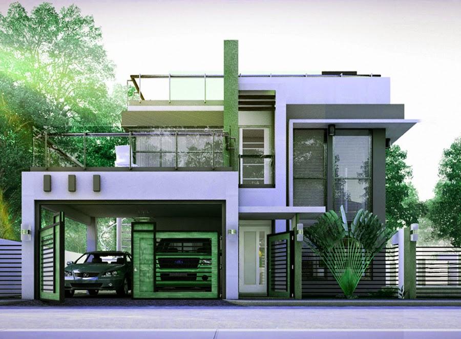 Gambar Rumah Mewah Minimalis 2 Lantai Rumah Minimalis