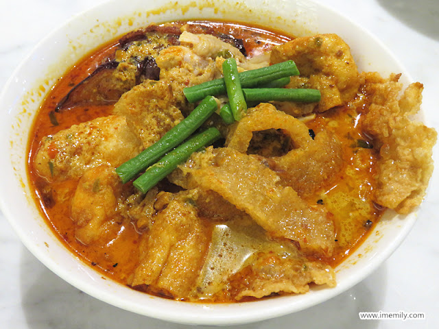 curry chicken noodle  Malaysia Boleh! Four Seasons Place KL