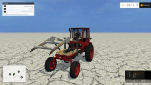 T 16 tractor + frontloader pack