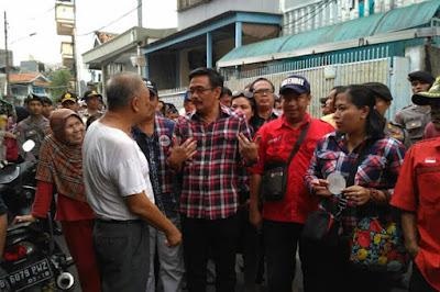 Lagi, Ratusan Warga Tolak Djarot saat Kampanye di Sawah Besar