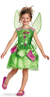 Girls Disney Tinker Bell Toddler/Child Costume