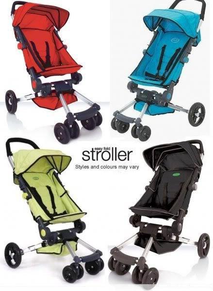 Nix Mixx: Pre-Order ::: QuickSmart Easy Fold Stroller