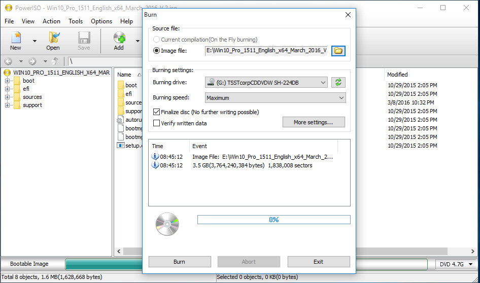 Poweriso v4.4 full including serials crack