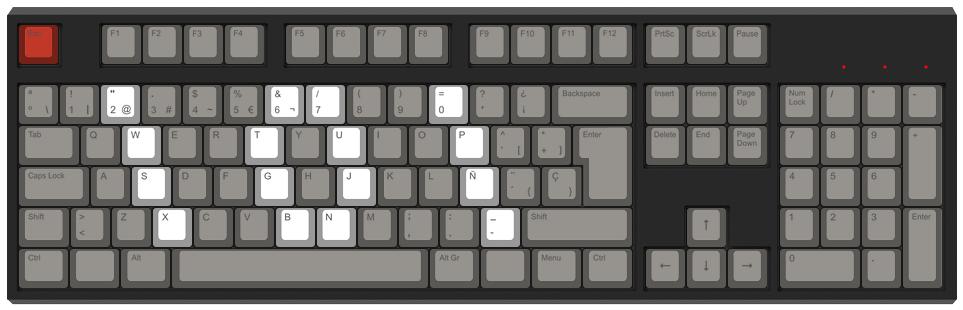 lol binario - Diseño teclado mecánico - dPunisher