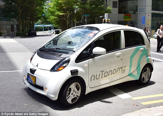 Around ten local and foreign companies are currently in Singapore to test their driverless vehicle technology.