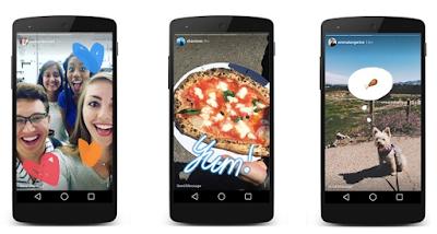 Update Instagram Terbaru Tambahkan Stiker Di Stories