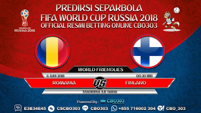 Prediksi Bola Romania VS Finland 06 Juni 2018