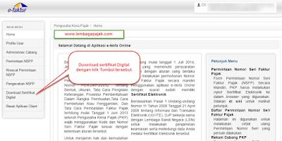 Cara Install Sertifikat Digital Efaktur
