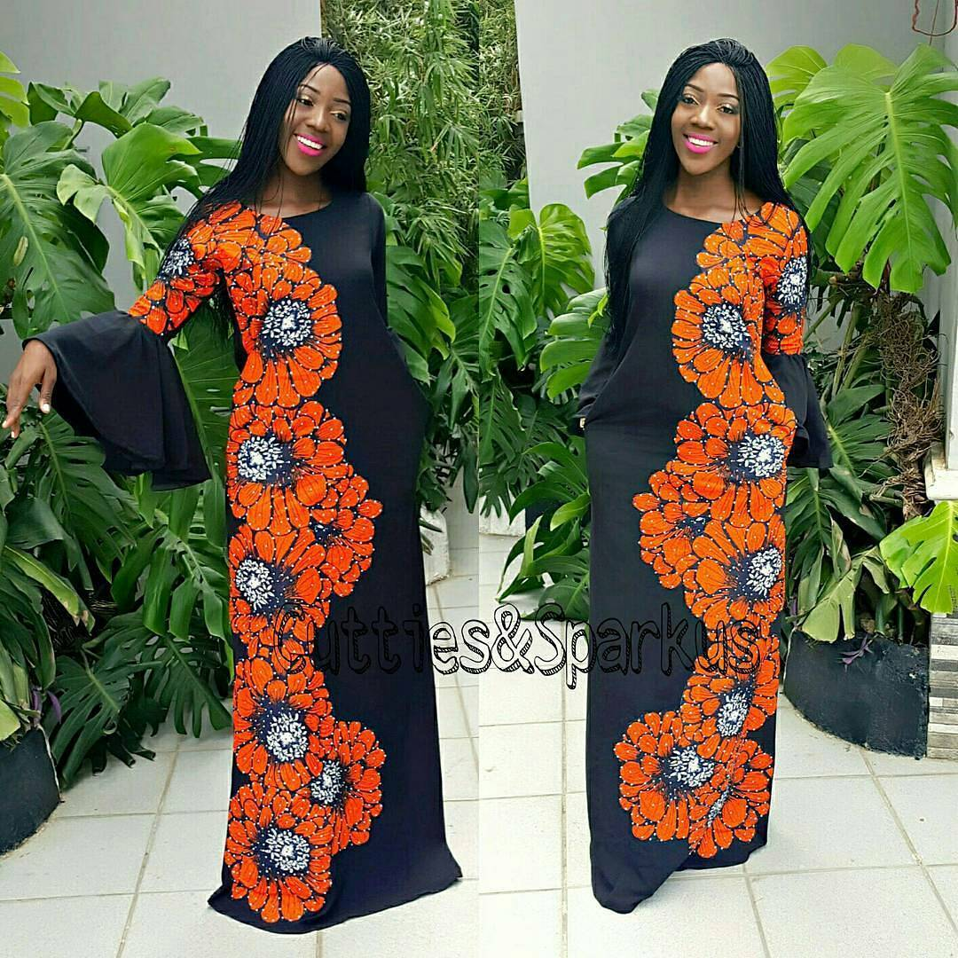 Free Flowing Ankara Gowns