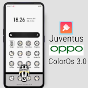 Tema Juventus untuk OPPO ColorOs V3.0
