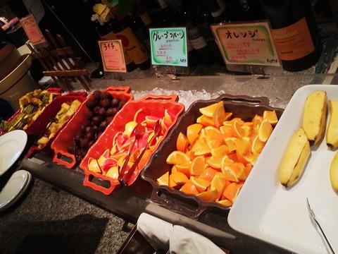 ビュッフェコーナー:フルーツ AlettA(アレッタ)ロコアナハ店