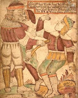 Der Mythos von Baldur und Loki