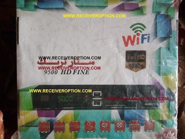 STAR TRACK 9500 HD FINE RECEIVER BISS KEY OPTION
