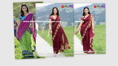 maroon colour saree